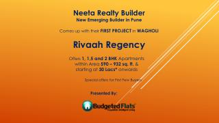 Buy 1,1.5 & 2 BHK apartments in Wagholi