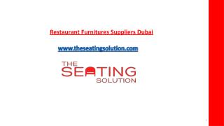 Outdoor restaurant furnitures sale dubai