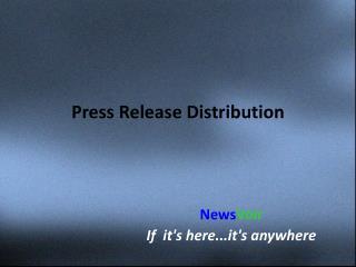 Online distribution platform-NewsVoir