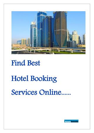 Choose best hotels online