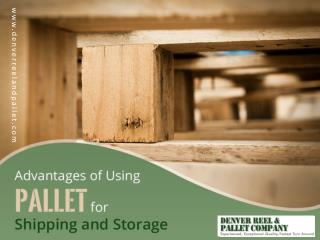 Advantages of Using Pallets for Shipping and Storage