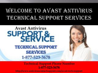 1-877-523-3678 Avast Antivirus Tech support