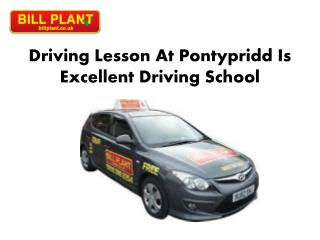 Driving Lesson Pontypridd