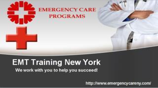 EMT Training Classes New York