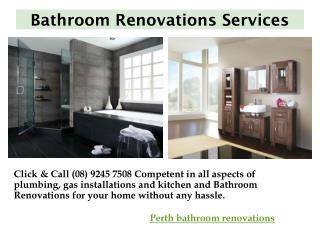 Perth Batroom Renovation