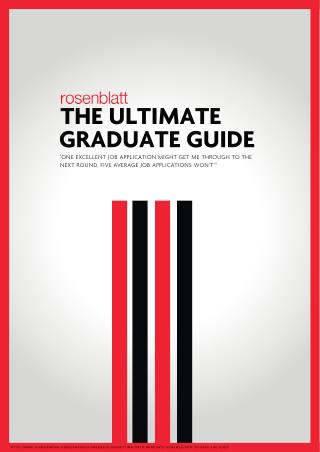 The Ultimate Graduate Guide