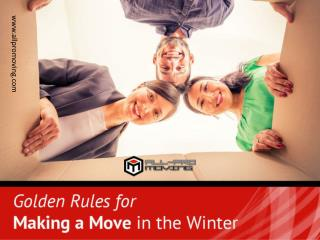 Effective Winter Moving Tips from San Antonio Movers