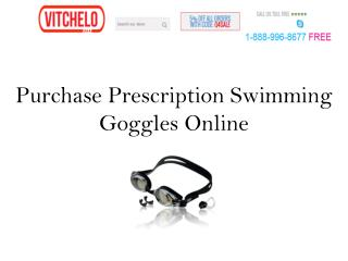 Purchase Prescription Swimming Goggles Online
