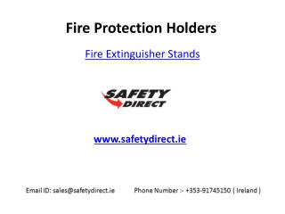 Fire Extinguisher Stands in Ireland are at Safetydirect.ie
