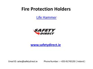 Life Hammer in Ireland are at SafetyDirect.ie