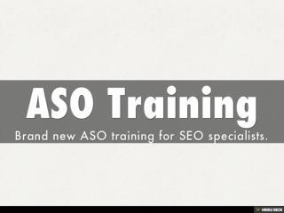 ASO Training for Online Marketing Experts