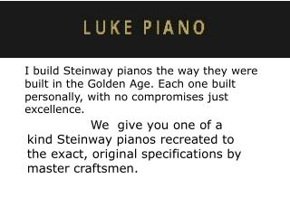 Used Steinway Pianos