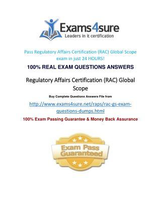 RAC Exam Questions