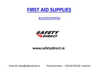 Bloodstopper in Ireland at safetydirect.ie