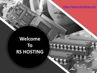Best Wordpress Hosting UK - RS Hosting