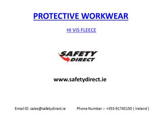 Hi vis Fleece in Ireland at safetydirect.ie