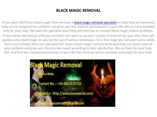 Get Solution Of Black Magic Removal In India