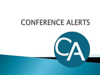 Conference alerts | Conference alert |Upcoming Conferences alerts India 2015, 2016