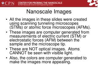 Nanoscale Images