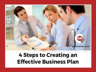 Effective Steps to Frame a Successful Business Plan