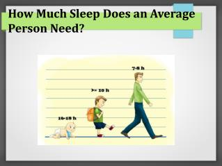 How to Acheive Normal Sleep Pattern?