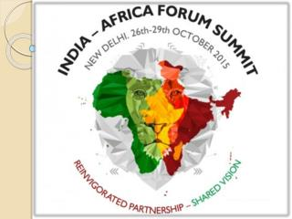 NIMS Chairman Dr. Balvir Singh Tomar at India Africa Forum Summit 2015