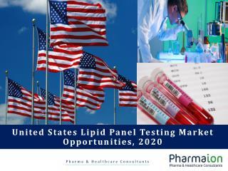 United States Lipid Panel Testing Market Report, 2010 – 2020