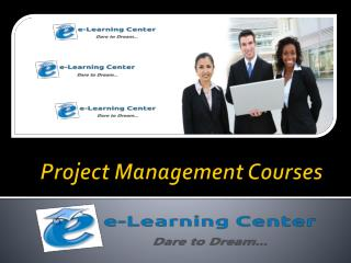 Project Management Courses - E-learning Center