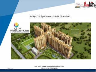 Aditya City Residences Apartments at NH-24 Ghaziabad