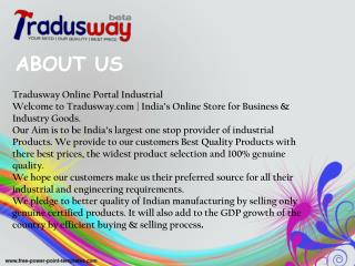 Tradusway Offer a Sale For all Industrial Tool
