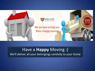 Kamal Cargo Packers Movers Services
