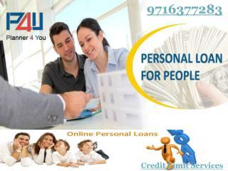 Superior credit limit services Delhi Call P4U