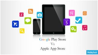 Google play store vs Apple Apps Store
