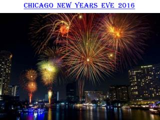 Chicago New years eve 2016