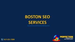 Boston SEO Services Perfection Marketing