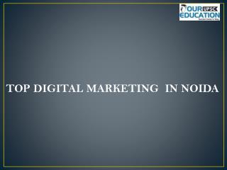Top digital marketing  in noida