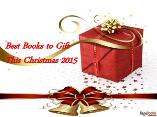Books to Gift this Christmas 2015