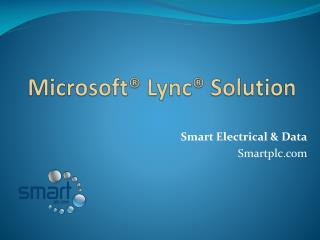 Microsoft Lync Solution