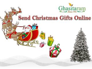 Buy Christmas Sweets Online at Ghasitaram Gifts