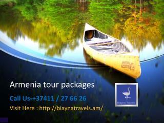 Armenia tour operator@37411 / 27 66 26