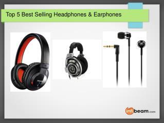Top 5 Best Selling Headphones & Earphones