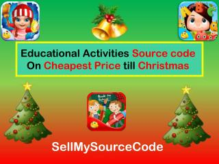 Educational Activities Source code On Cheapest Price till Christmas