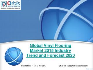 2015-2020 Global Vinyl Flooring  Market Trend & Development Study