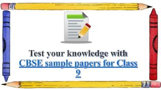 Find previous years CBSE Sample Papers for Class 9 with Genextstudents.com
