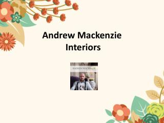 South African Interior Decorators - Andrew Mackenzie
