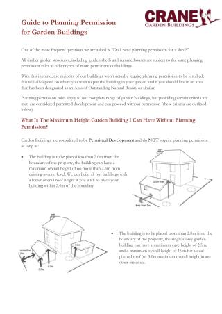 Planning Permission Fact Sheet