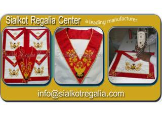 Masonic Rose Croix regalia Apron & collar