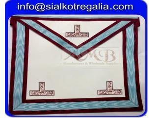 Masonic Mark worship master apron