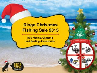 Buy Fishing Camping and Boating Accessories On Christmas Sale 2015 - Part 3