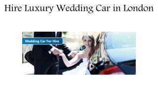 Wedding Cars London